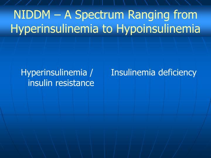Hyperinsulinemia / insulin resistance