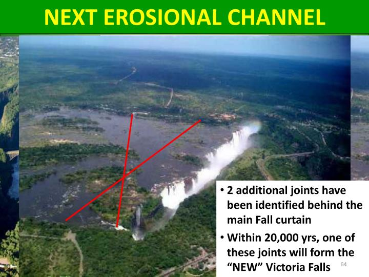 NEXT EROSIONAL CHANNEL