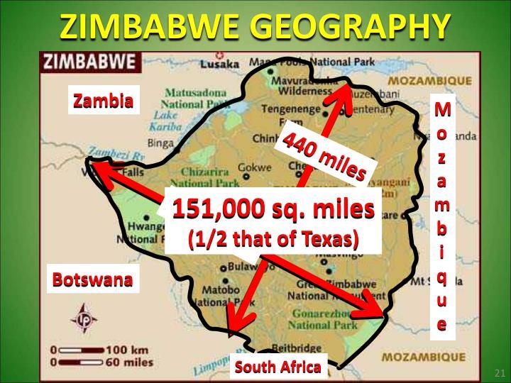 ZIMBABWE GEOGRAPHY