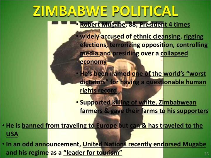 ZIMBABWE POLITICAL