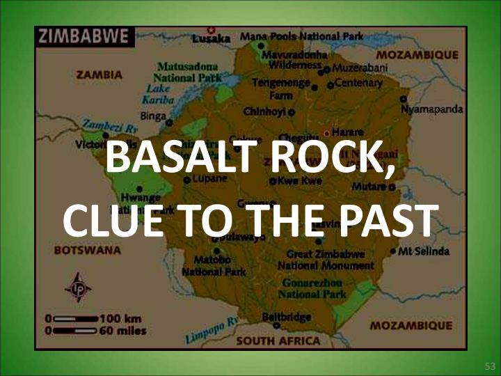 BASALT ROCK,