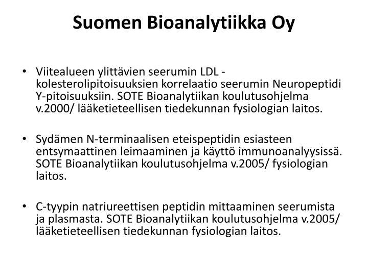 Suomen Bioanalytiikka Oy