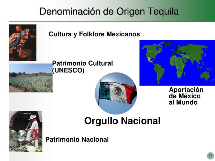Denominación de Origen Tequila