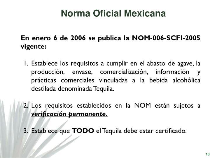 Norma Oficial Mexicana