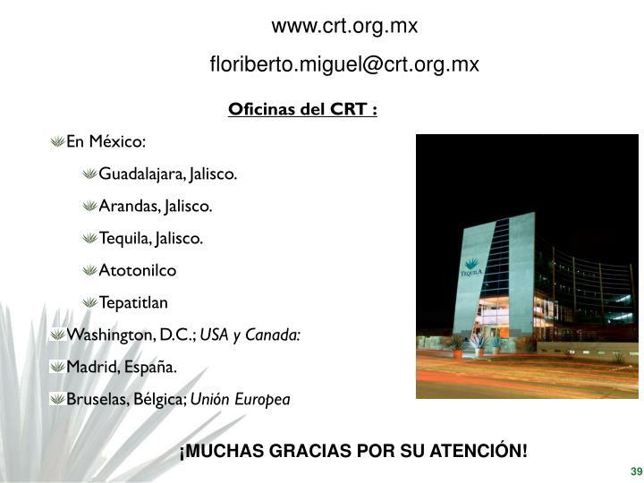 www.crt.org.mx