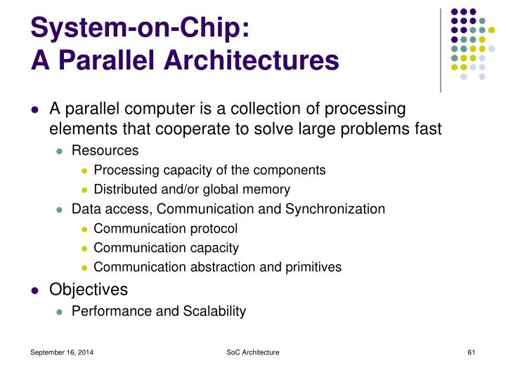 System-on-Chip: