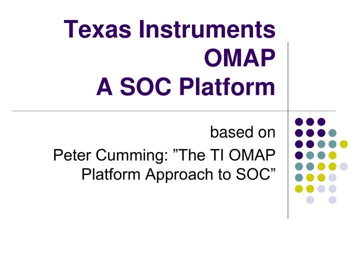 Texas Instruments OMAP