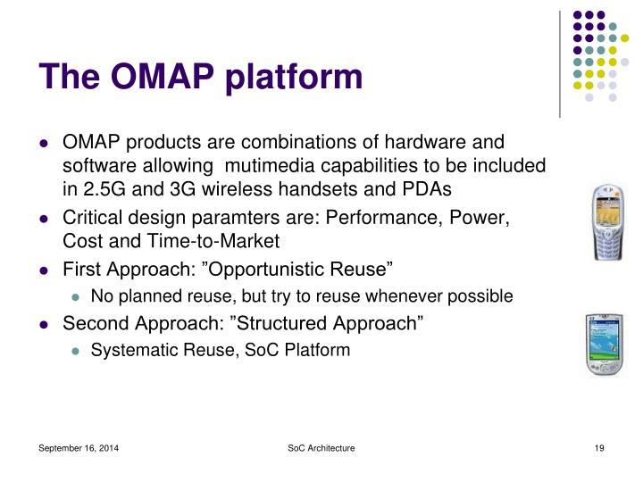 The OMAP platform