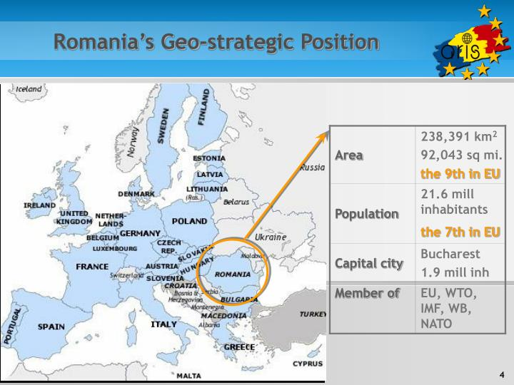 Romania's Geo-strategic Position