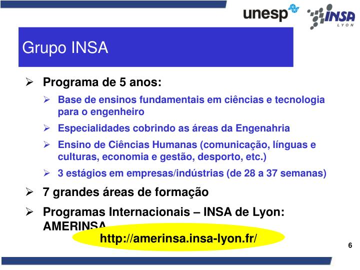 Grupo INSA