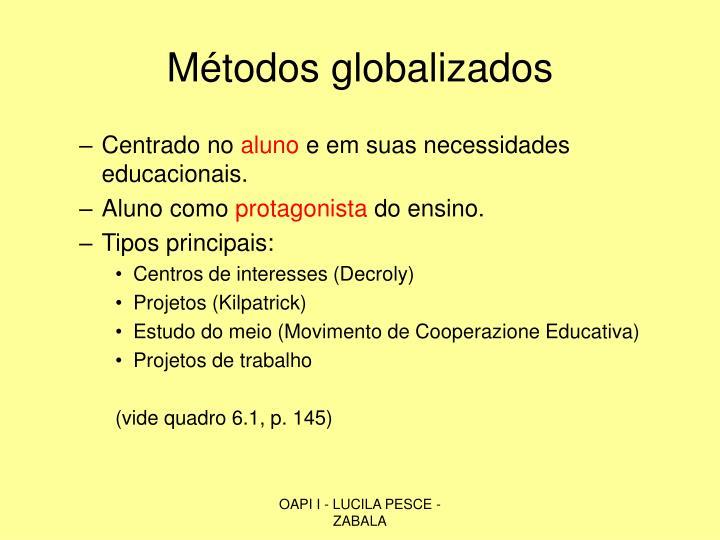 Métodos globalizados