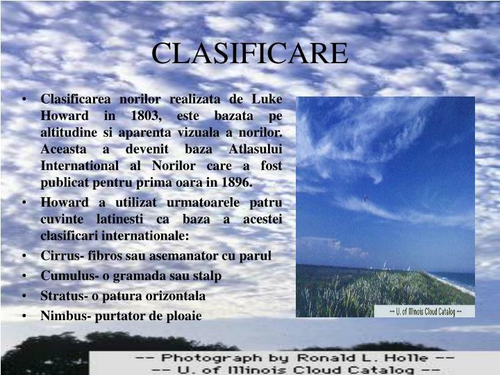 CLASIFICARE
