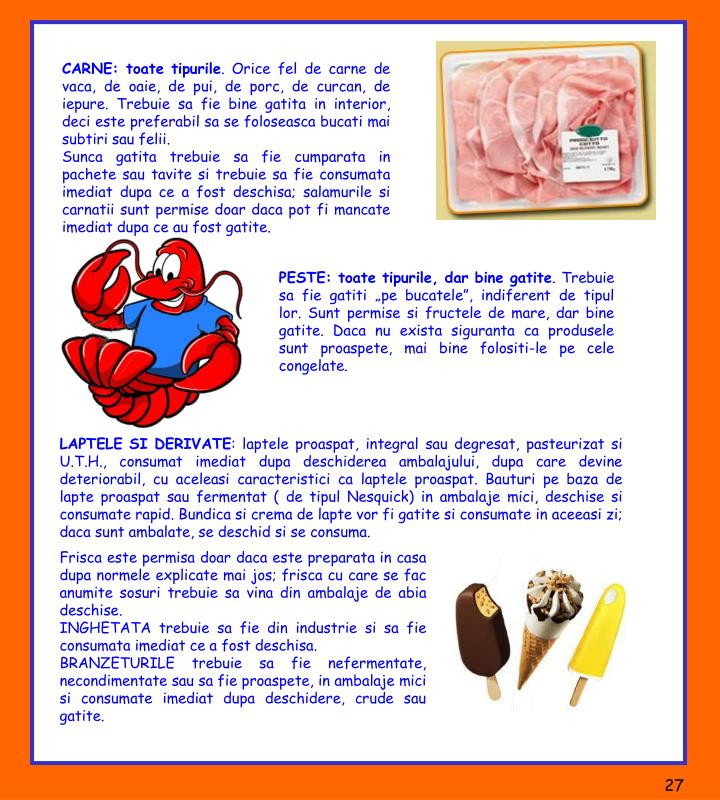 CARNE: toate tipurile