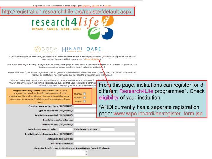http://registration.research4life.org/register/default.aspx