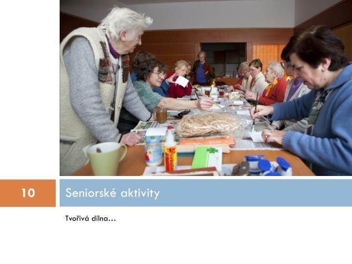 Seniorské aktivity
