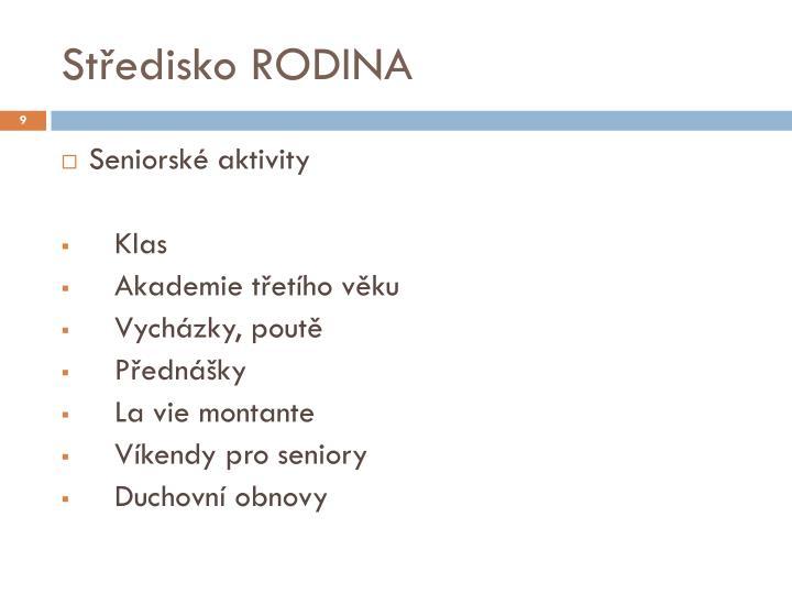 Středisko RODINA