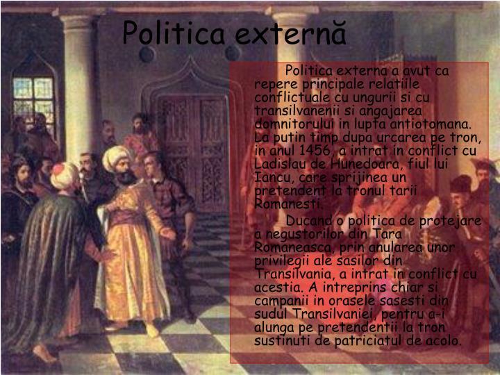 Politica extern