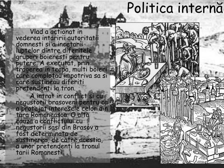 Politica intern