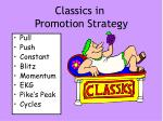 classics in promotion strategy