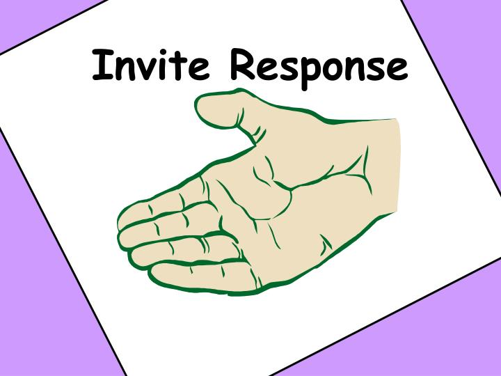 Invite Response