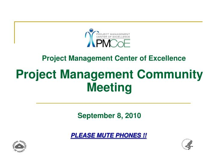 Project Management Center of Excellence