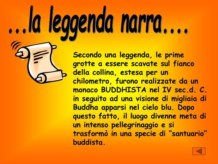 ...la leggenda narra....