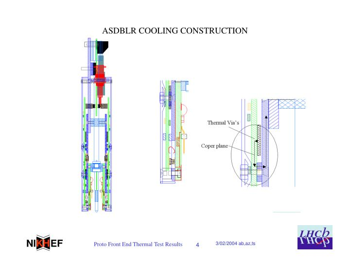 ASDBLR COOLING CONSTRUCTION