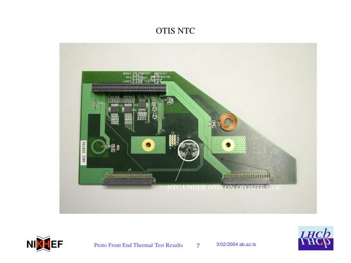 OTIS NTC