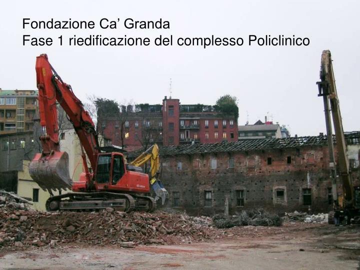 Fondazione Ca' Granda