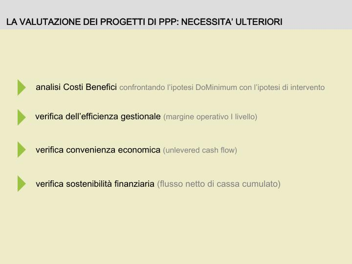 analisi Costi Benefici