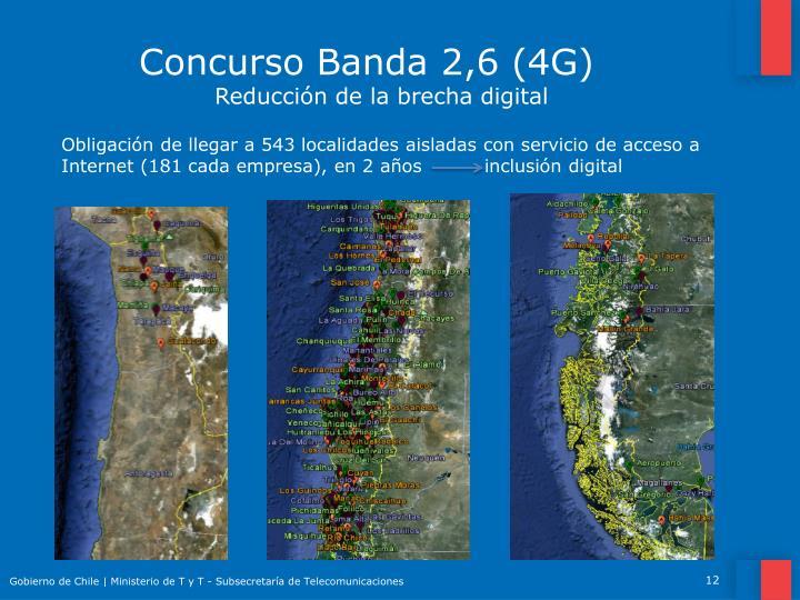 Concurso Banda 2,6 (4G)