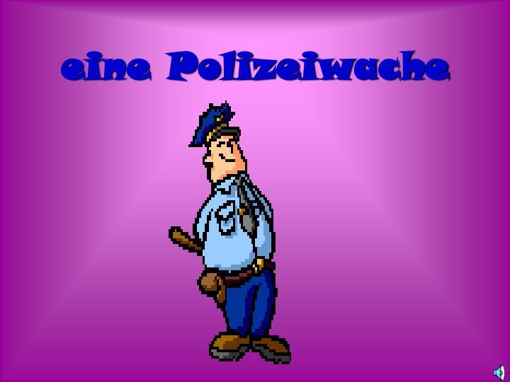 eine Polizeiwache