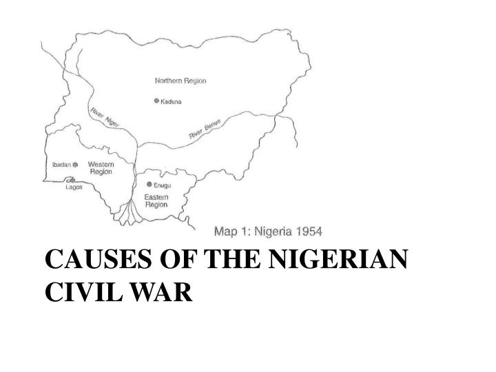 PPT  The Nigerian Civil War PowerPoint Presentation  ID4481214