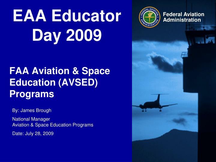 EAA Educator Day 2009