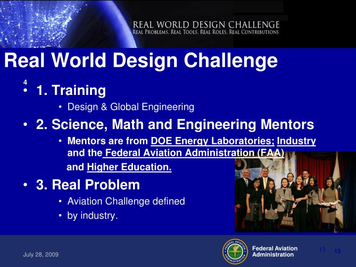 Real World Design Challenge