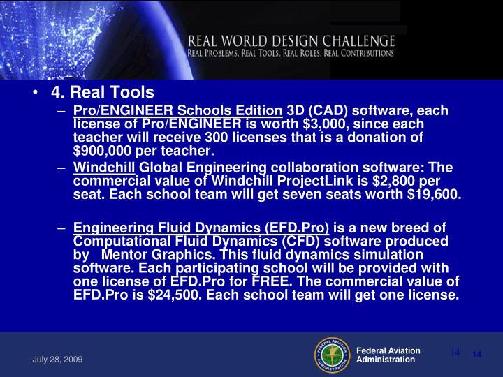 4. Real Tools