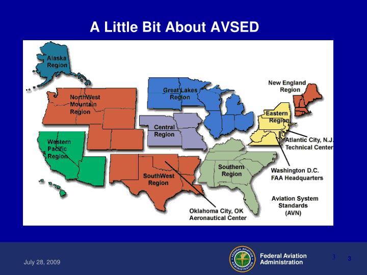 A Little Bit About AVSED