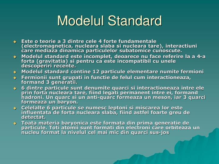 Modelul Standard