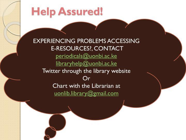 Help Assured!