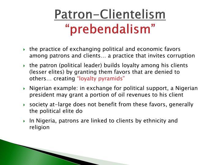Patron-Clientelism