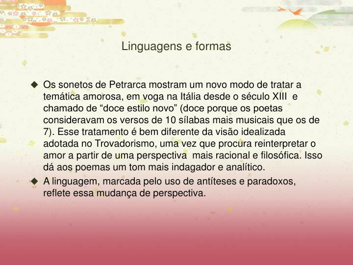 Linguagens e formas