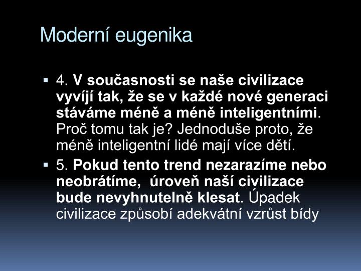Modern eugenika