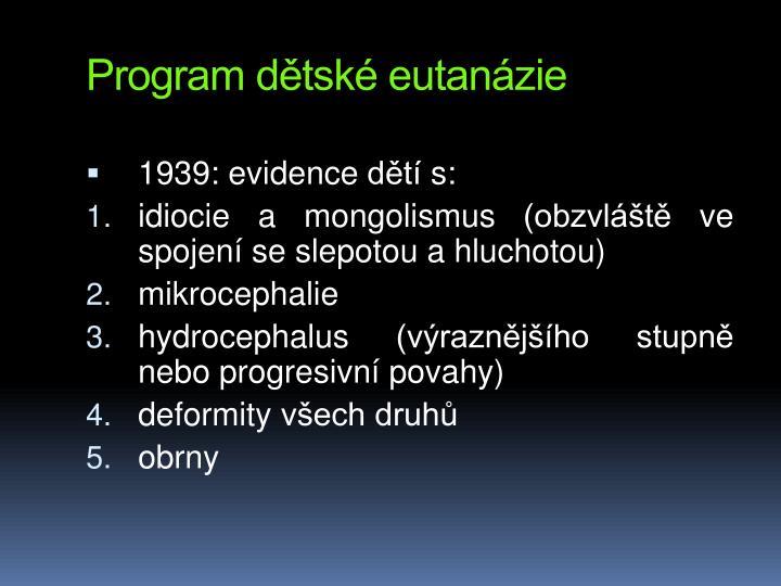 Program dtsk eutanzie