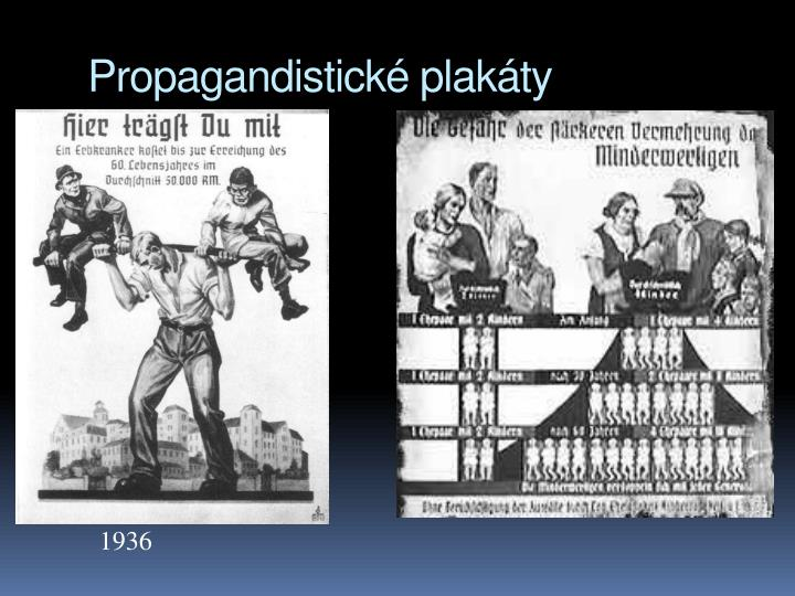 Propagandistick plakty