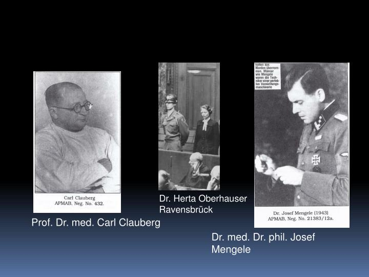 Dr. Herta Oberhauser