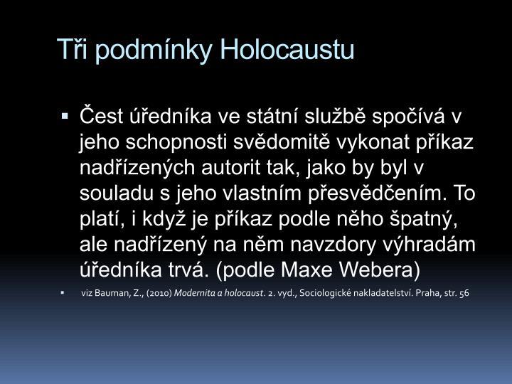 Ti podmnky Holocaustu