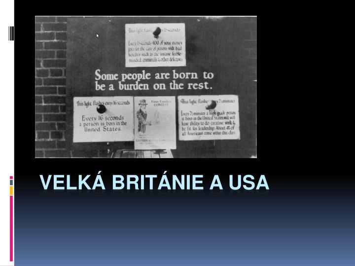 Velk Britnie a