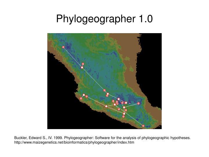 Phylogeographer 1.0