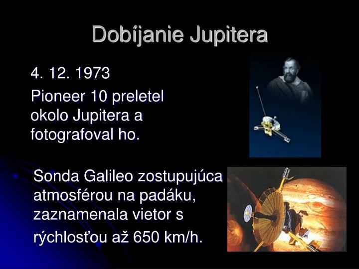 Dobíjanie Jupitera