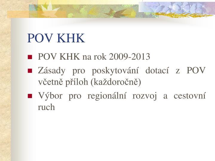 POV KHK